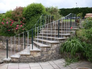 wrought-iron-handrail-stair-case
