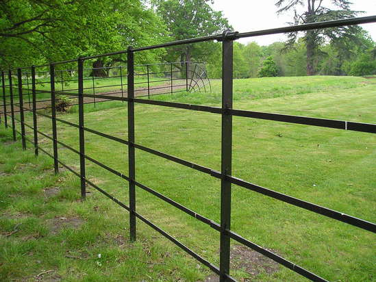 Park estate fencing